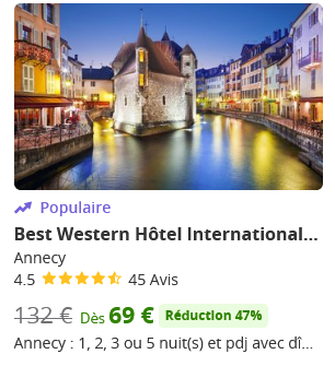 offre groupon annecy