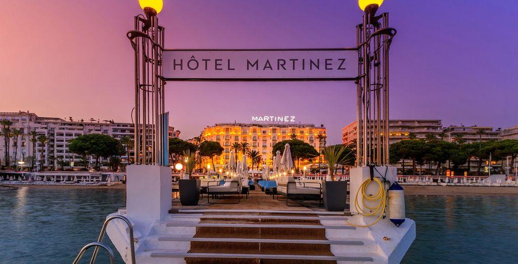 Dès 99€ par personne, nuit de luxe au coeur du Martinez à Cannes !