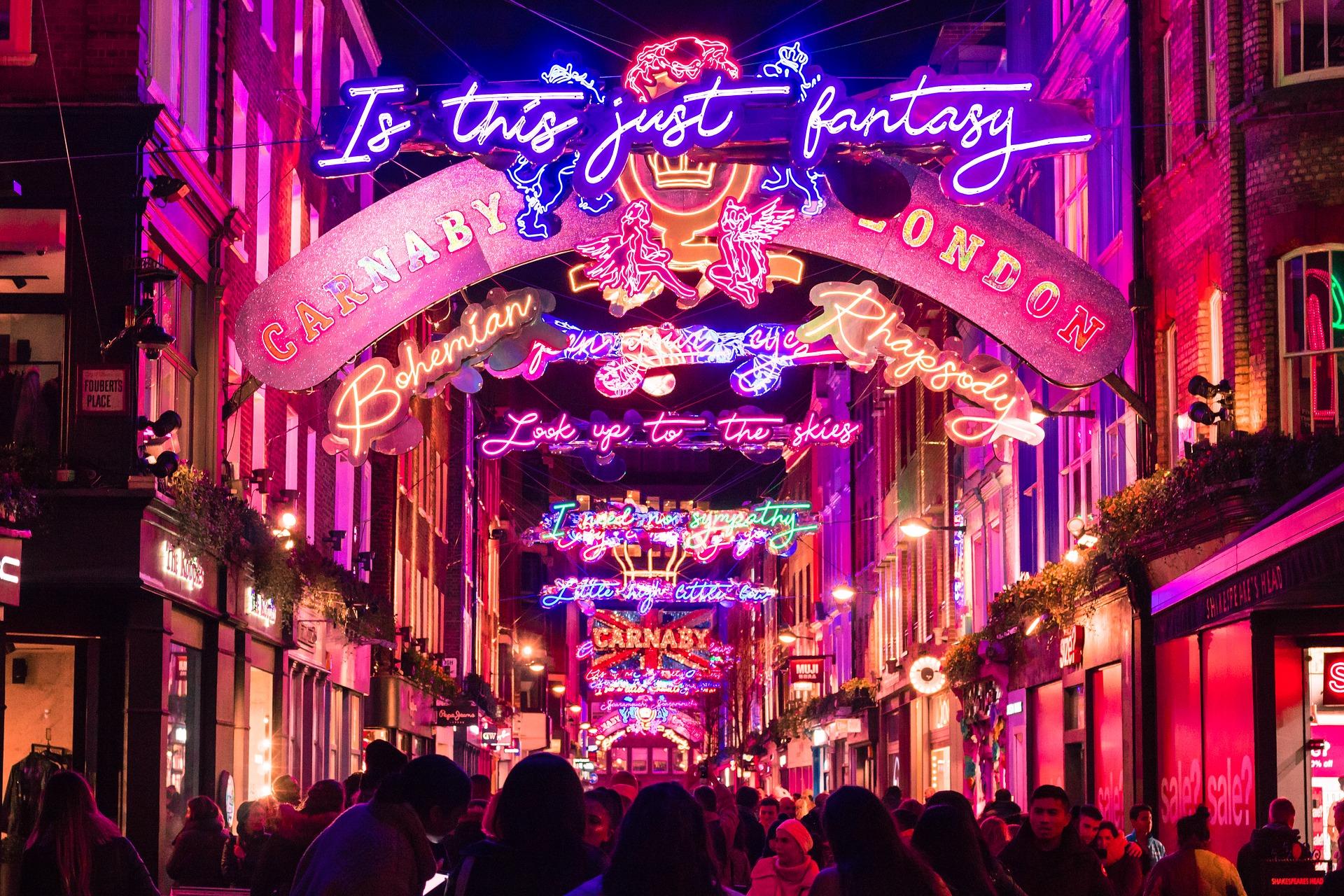 190€ par personne ! Ambiance de Noël à Londres !