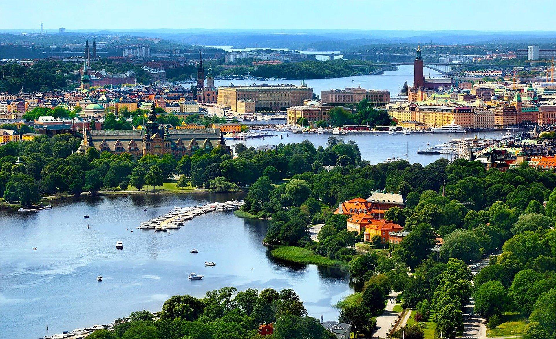 Dès 35€ le vol A/R par personne, envolez vous à Stockholm la Venise du Nord !
