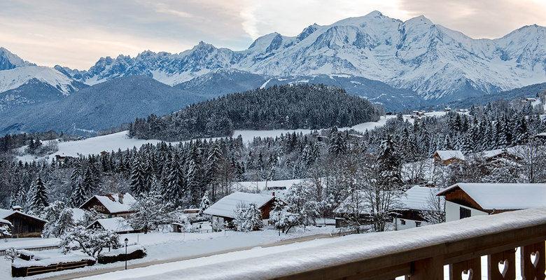 Dès 48€ par personne , séjour romantique avec vue sur le Mont-Blanc